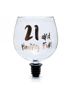 TIPPLE TOPPER WINE GLASS -  21