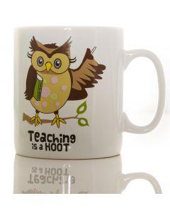 MUG GIANT -  TEACHER HOOT