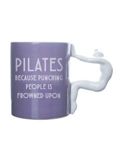 PILATES MUG - PUNCHING PEOPLE