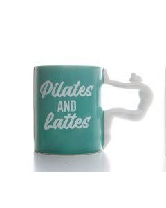 PILATES MUG - PILATES & LATTES