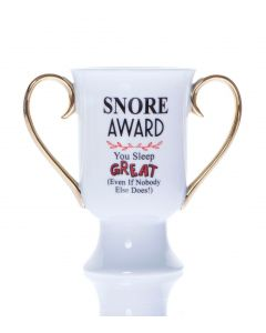 TROPHY MUGS - SNORE AWARD