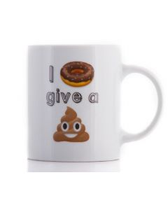 EMOJI MUG: I DON'T GIVE A … (10OZ)