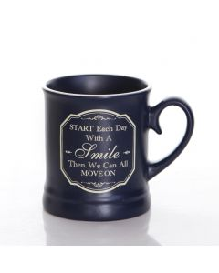 VICTORIANA MUG - START EACH DAY (10OZ)