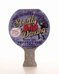 STRICTLY BAD DANCING SCORING PADDLE - SCORE THE PERFECT TEN