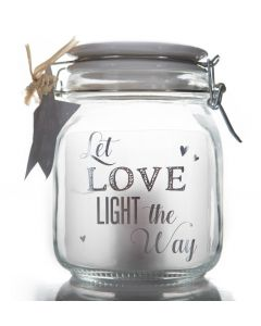 STARS IN JARS - LET LOVE LIGHT THE WAY