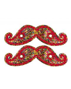 SHWINGS - MOUSTACHE - RAINBOW SPK- LACE