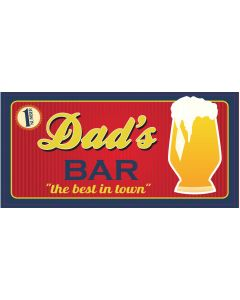 BAR SIGNS - DADS BAR