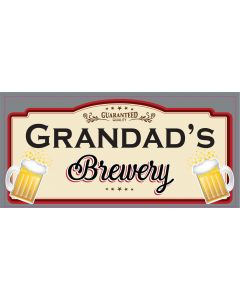 BAR SIGNS - GRANDADS BREWERY