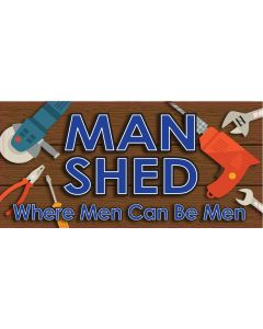 BAR SIGNS - MAN SHED