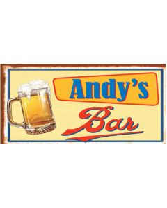BAR SIGNS - ANDY