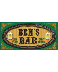 BAR SIGNS - BEN