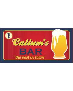 BAR SIGNS - CALLUM