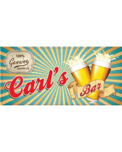 BAR SIGNS - CARL
