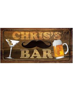 BAR SIGNS - CHRIS