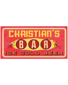BAR SIGNS - CHRISTIAN