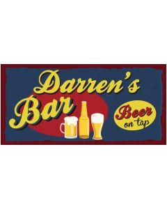 BAR SIGNS - DARREN