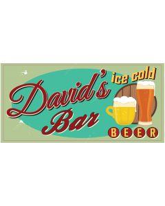 BAR SIGNS - DAVID