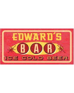 BAR SIGNS - EDWARD
