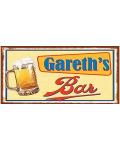 BAR SIGNS - GARETH