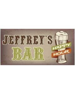 BAR SIGNS - JEFFREY