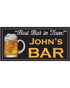 BAR SIGNS - JOHN