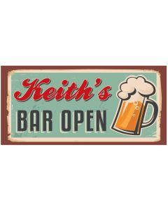 BAR SIGNS - KEITH
