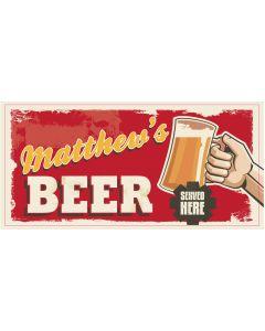BAR SIGNS - MATTHEW