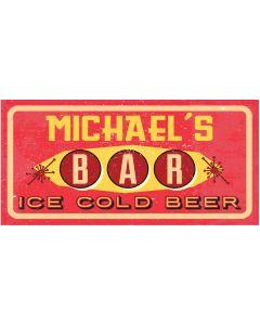 BAR SIGNS - MICHAEL