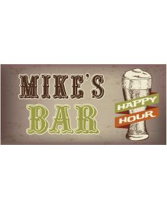 BAR SIGNS - MIKE