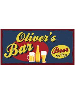 BAR SIGNS - OLIVER