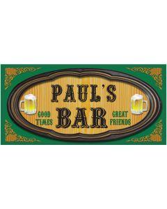 BAR SIGNS - PAUL