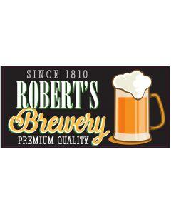 BAR SIGNS - ROBERT