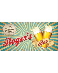 BAR SIGNS - ROGER