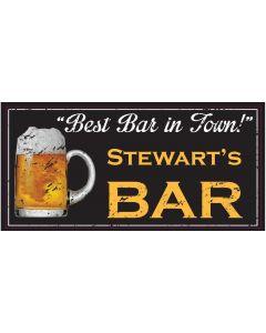 BAR SIGNS - STEWART