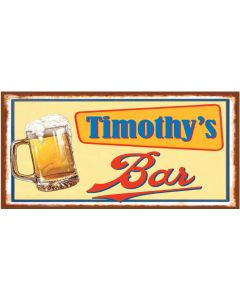 BAR SIGNS - TIMOTHY