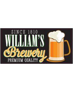 BAR SIGNS - WILLIAM