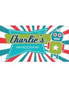 RETRO SIGN - CHARLIE