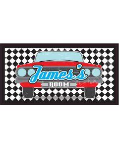 RETRO SIGN - JAMES