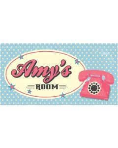 RETRO SIGN - AMY
