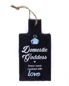 SLATE KITCHEN SIGN - DOMESTIC GODDESS