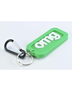 TEXT KEYRING - OMG