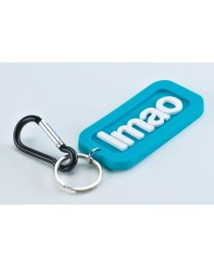 TEXT KEYRING - LMAO