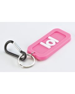 TEXT KEYRING - LOL