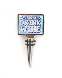 WINE STOPPER - SAVE WATER DRINK WINE