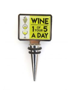 WINE STOPPER - WINE 1 OF YOUR 5 A DAY