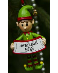 ELF DECORATION  - AWESOME SON