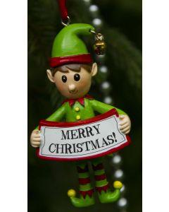 ELF DECORATION  - MERRY CHRISTMAS
