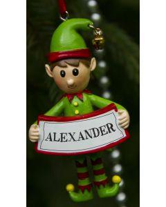 ELF DECORATION  - ALEXANDER