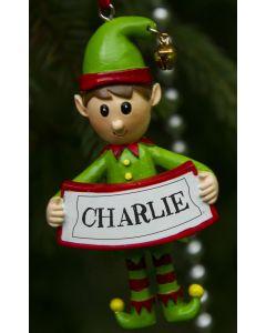 ELF DECORATION  - CHARLIE