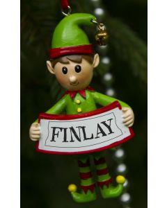 ELF DECORATION  - FINLAY